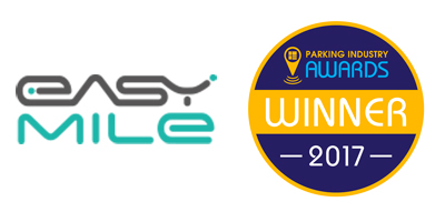 EasyMile Wins in Parking Industry Awards 2017