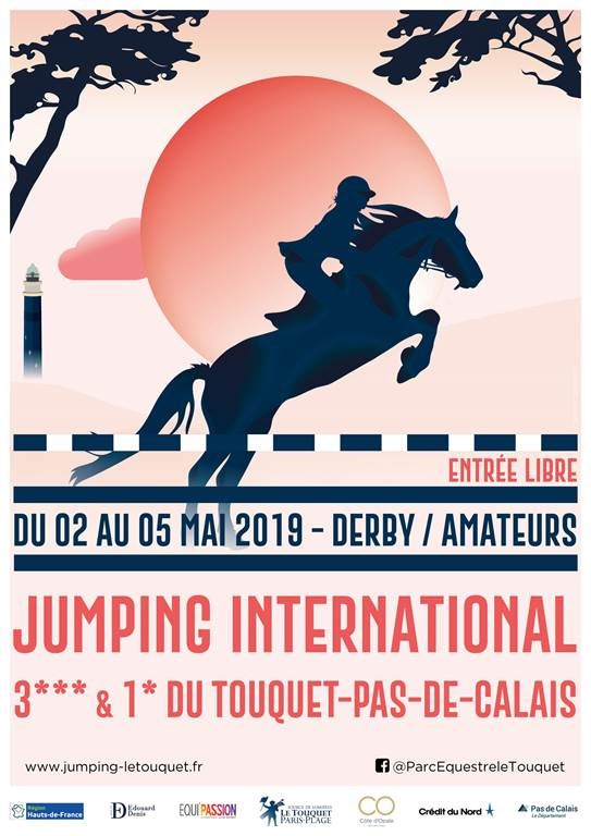 8e édition du Jumping International 3*** du Touquet-Paris-Plage !