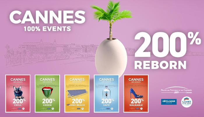 Campagne CANNES 100% EVENTS